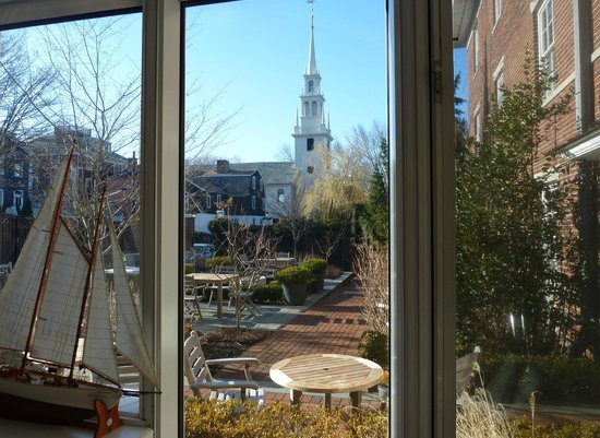 The Vanderbilt Grace: Blick aus dem Frühstücksraum