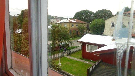 Hostal Margouya Patagonia: Vista da janela do quarto