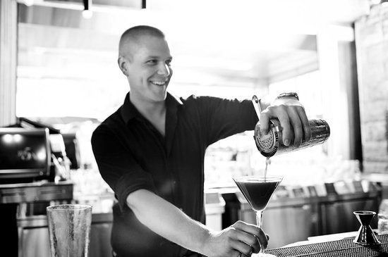 Earls Whistler: Bartenders making our handcrafted martini's