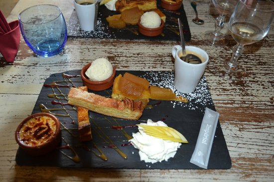 Auberge de Meneham : un vrai Café Gourmand