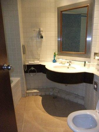 Hilton Hurghada Resort: Badezimmer #1118