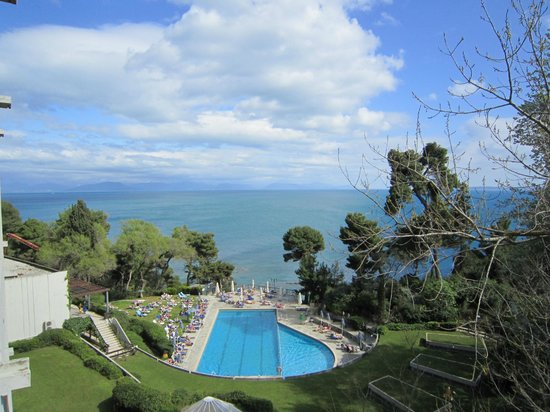 Corfu Holiday Palace: View from balcony