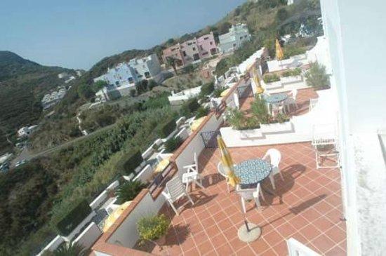 Villa Flavia: terrazze