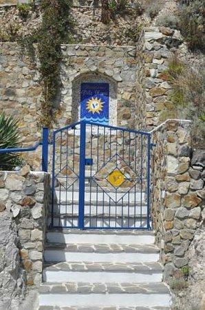 Villa Flavia: ingresso