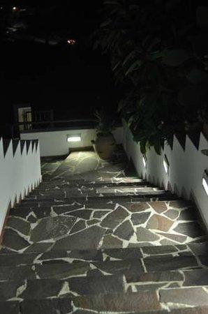 Villa Flavia: illuminazione notturna