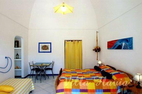 Villa Flavia: stanza