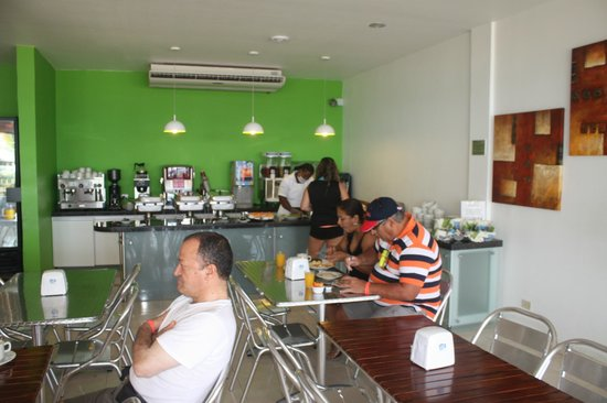 Portobelo Boulevard: desayuno
