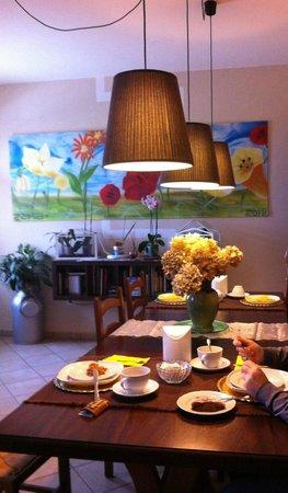 B&B Casazze Dream: Sala breakfast