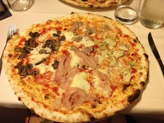 Pepe Nero: pizza
