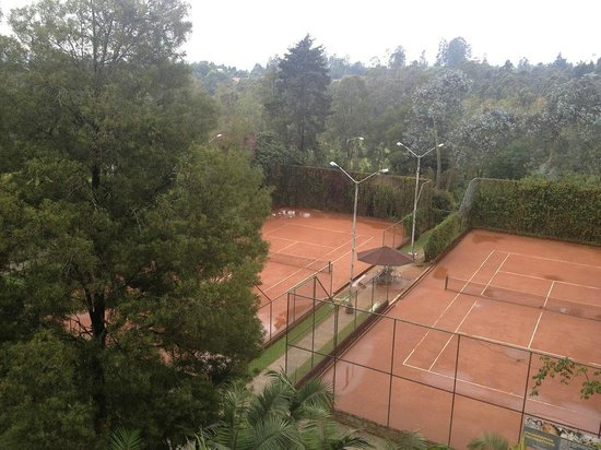 Movich Las Lomas Hotel: Clay tennis courts