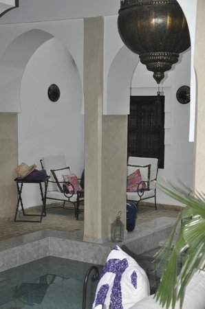 Dar Charkia: Smaller courtyard