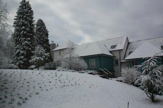 Duchally Country Estate: Scottish snow