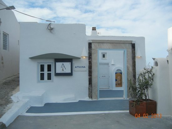 Athina Luxury Suites: Entrance
