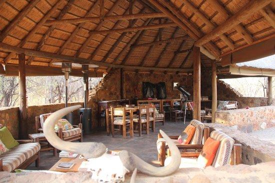 Mosetlha Bush Camp & Eco Lodge: zona relax