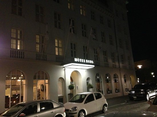 Hotel Borg at Night