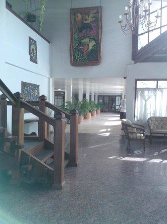 Poty Praia Hotel : recepción