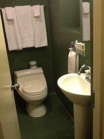 Hotel Belleclaire: Bathroom