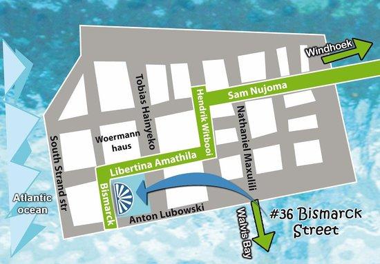 Secret Garden Bistro: Map to the Bistro