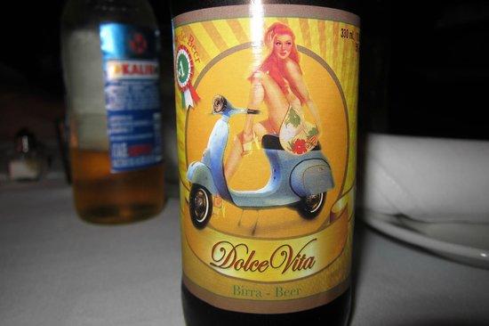 La Locanda: Nice italian beer.