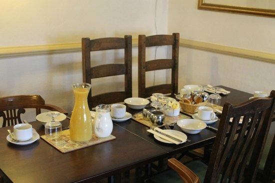 The Bull Inn : Breakfast room