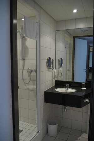 Mercure Hotel Berlin City: Single room (on first floor)