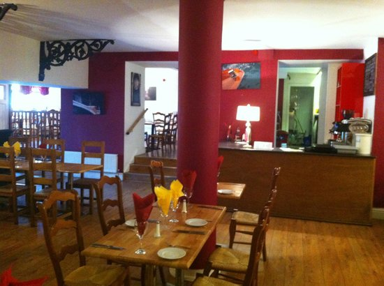 Ratatouille: Coffee area