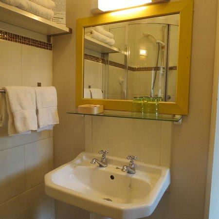 Ferrycarrig Lodge B&B: Bathroom area