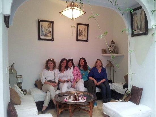 Riad Essaada : Moment de détente