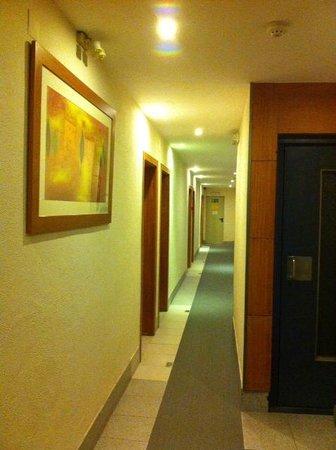 Hotel Londres: Pasillo del hotel