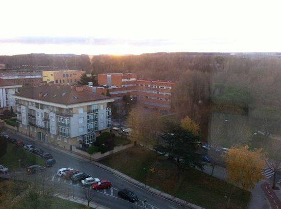 Hotel Puerta de Burgos: Vista desde la habitación