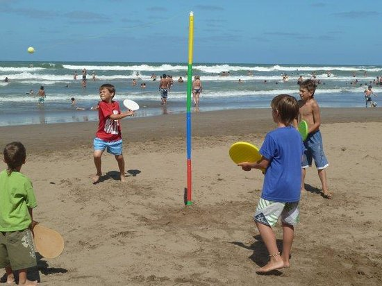 San Bernardo, Argentina: En la Playa