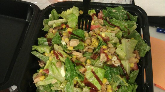 The Lunch Box: BBQ Chicken Salad