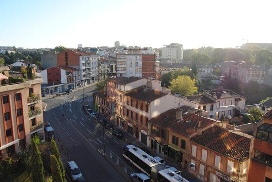 Kyriad Toulouse Centre : Vista desde la habitación