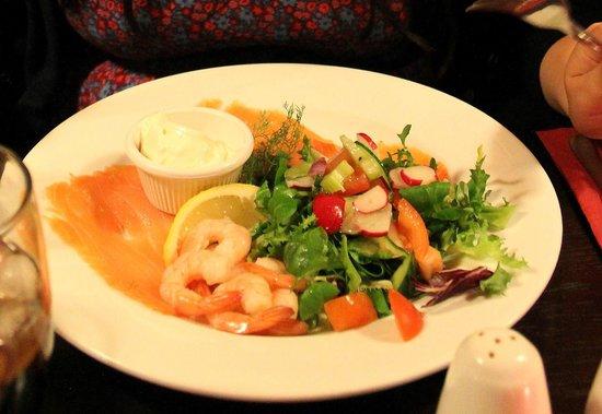 King's Arms: Seafood starter