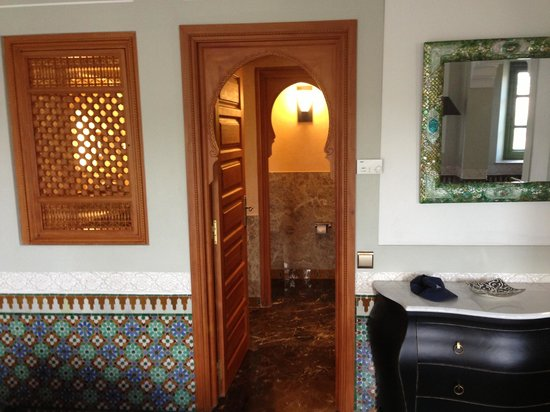 Palais Faraj Suites & Spa: Bathroom complex