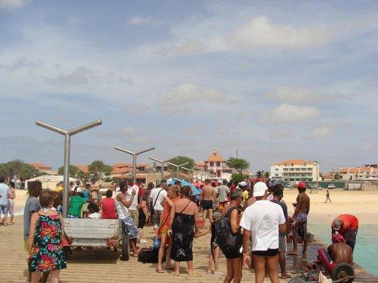 Praia de Santa Maria: praia