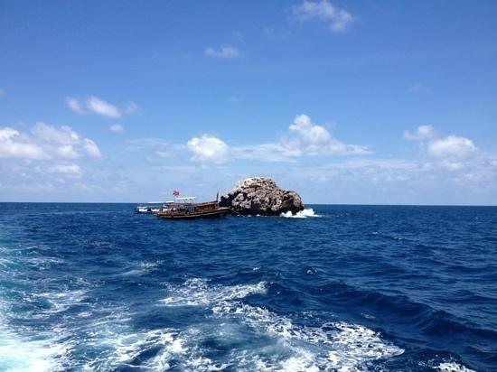 Pirate Divers: Sail rock
