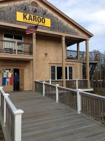 Karoo Restaurant: The front entrance to Karoo