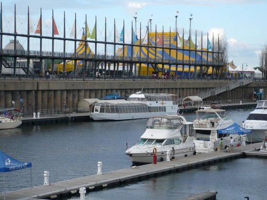 Le Sieur De Joliette: Vieux port cirque du soleil