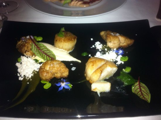Azul at Mandarin Oriental : Scallops