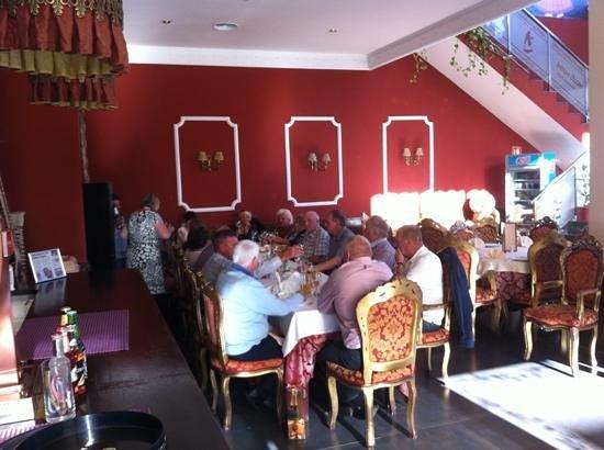 Indian Ocean Restaurant: busy hour