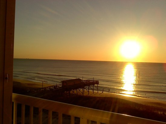 Golden Sands : room with a view!!