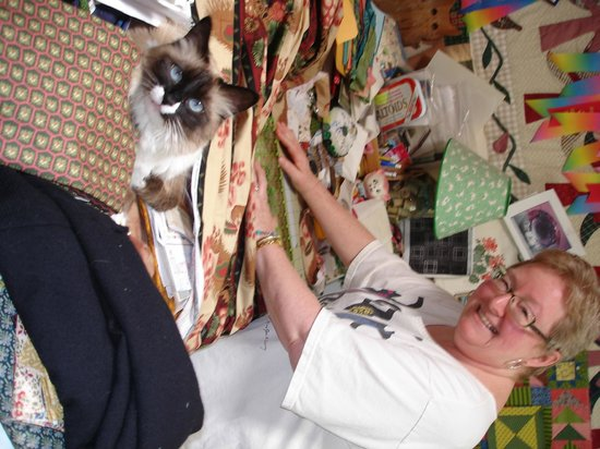 Cactus Quilt Shop: Nancy's Helper!