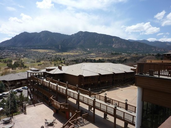Cheyenne Mountain Resort View Of From Restaurant Balcony
