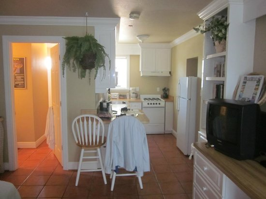 Tortuga Beach Resort : Kitchen/Dining area