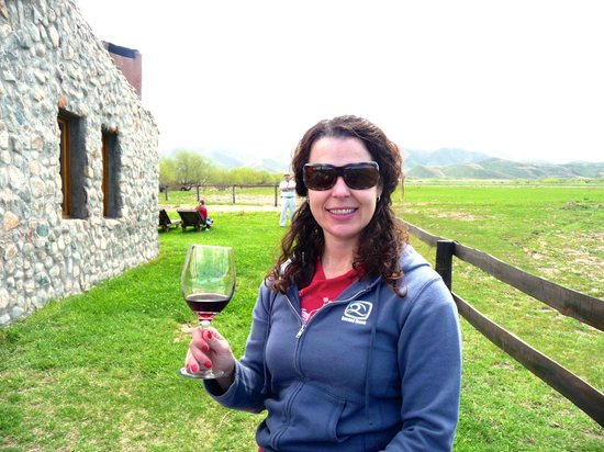 Estancia La Alejandra: A refreshing glass of Malbec