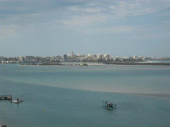 Gemini Resort: View from balcony