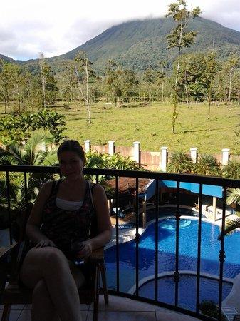 Hotel Magic Mountain: balcony on 3rd floor