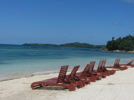 Coralview Island Resort: The beach - small but ample