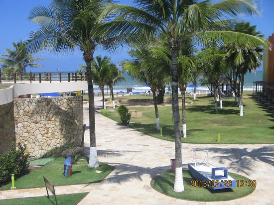 Prodigy Beach Resort Marupiara: PARTE INTERNA